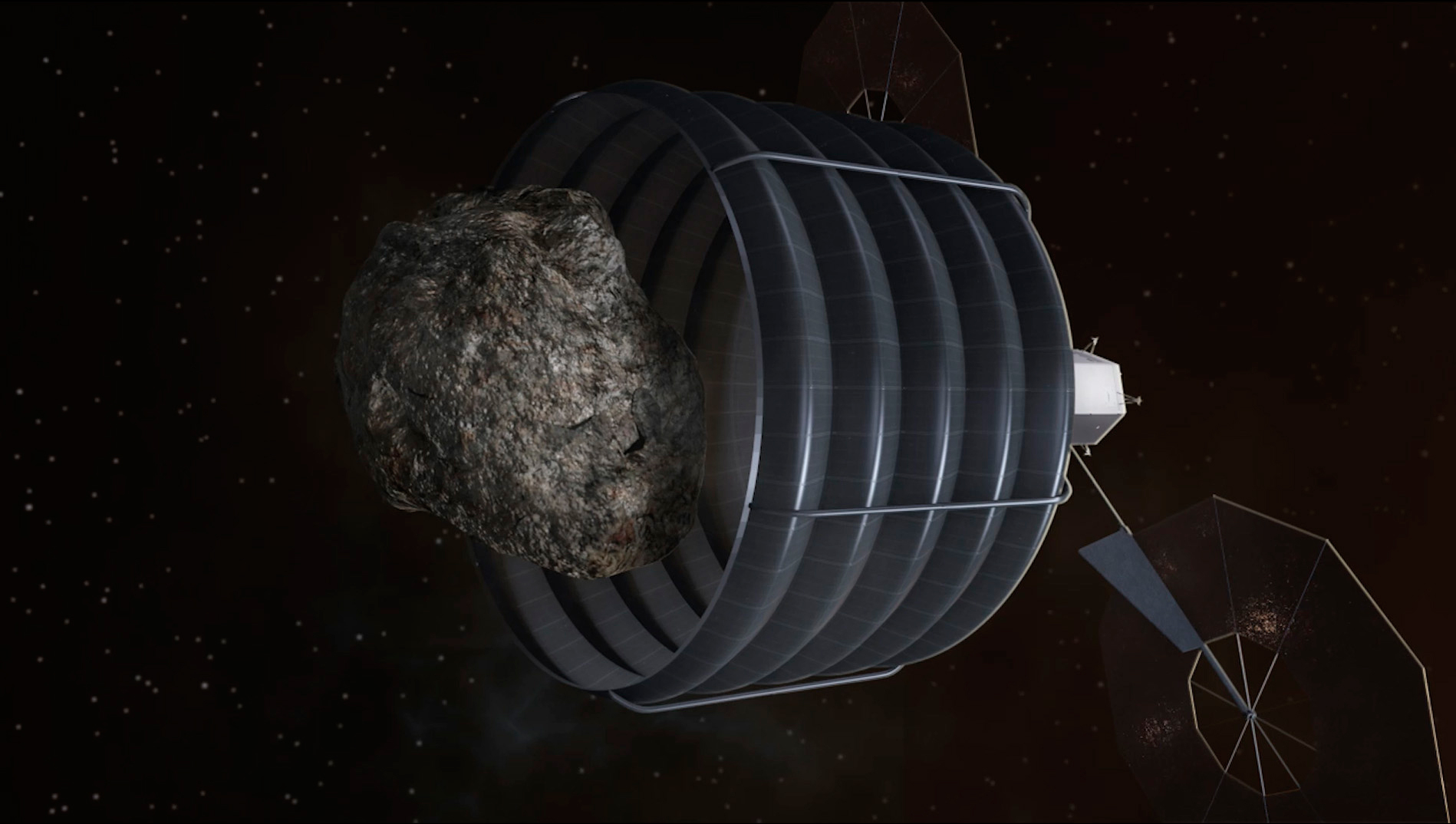 NASA asteroid capture. Image from: http://www.jpl.nasa.gov/asteroidwatch/newsfeatures.cfm?release=2013-131